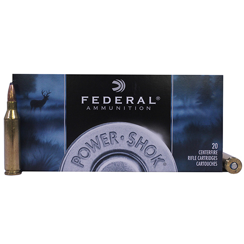 Federal Cartridge Federal Cartridge 243 Winchester 243 Win, 100gr, Power Shok Soft Point, (Per 20) 243B