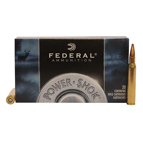 Federal Cartridge Federal Cartridge 280 Remington 280 Remington, 150grain, Power Shok Soft Point, (Per 20) 280B