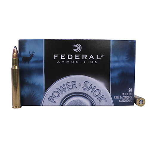 Federal Cartridge Federal Cartridge 30-06 Springfield 30-06 Springfield, 125grain, Speer Hot-Cor Soft Point, (Per 20) 3006CS