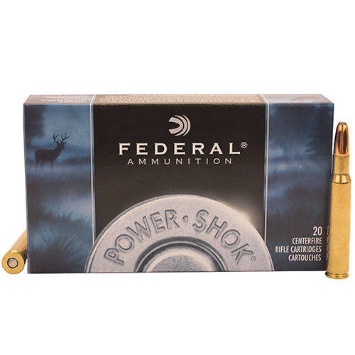 Federal Cartridge Federal Cartridge 30-06 Springfield 30-06 Springfield, 220grain, Speer Hot-Cor Soft Point Round Nose, (Per 20) 3006HS