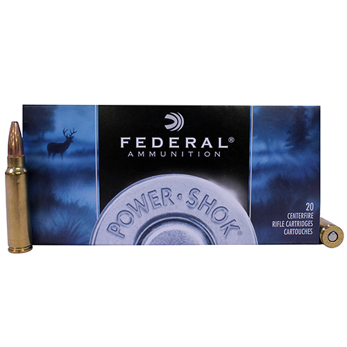 Federal Cartridge Federal Cartridge 300 Savage by Federal 300 Savage, 150grain, Power Shok Soft Point, (Per 20) 300A