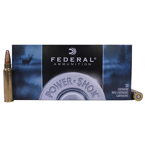 Federal Cartridge 300 Savage by Federal 300 Savage, 180grain, Power Shok Soft Point, (Per 20) 300B