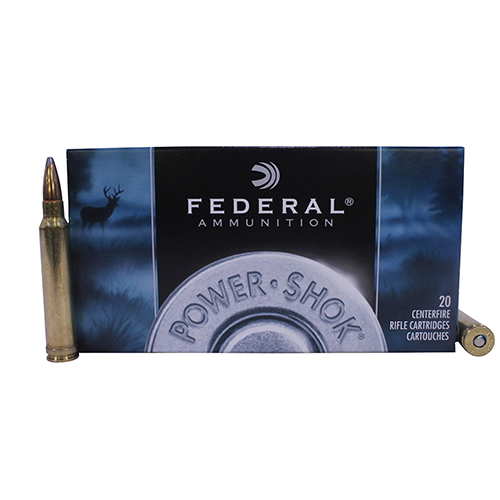 Federal Cartridge Federal Cartridge 300 Winchester Magnum 300 Win Mag, 150gr, Speer Hot-Cor Soft Point, (Per 20) 300WGS