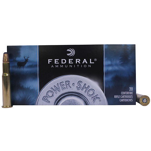 Federal Cartridge Federal Cartridge 30-30 Winchester 30-30 Win, 170gr, Power Shok Soft Point Round Nose, (Per 20) 3030B