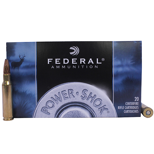 Federal Cartridge Federal Cartridge 308 Winchester 308 Win, 150gr, Power Shok Soft Point, (Per 20) 308A