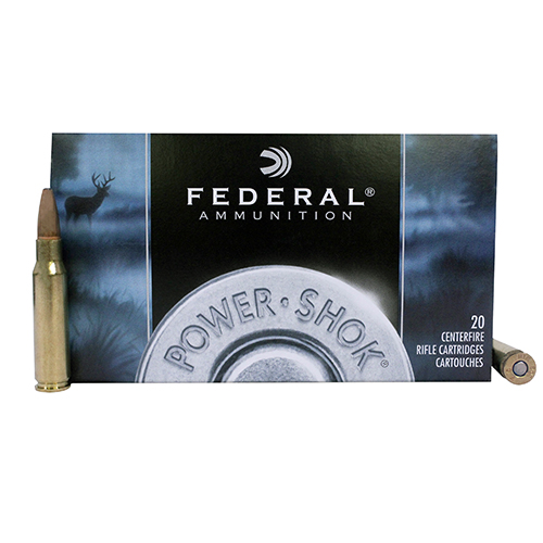 Federal Cartridge Federal Cartridge 308 Winchester 308 Win, 180gr, Power Shok Soft Point, (Per 20) 308B