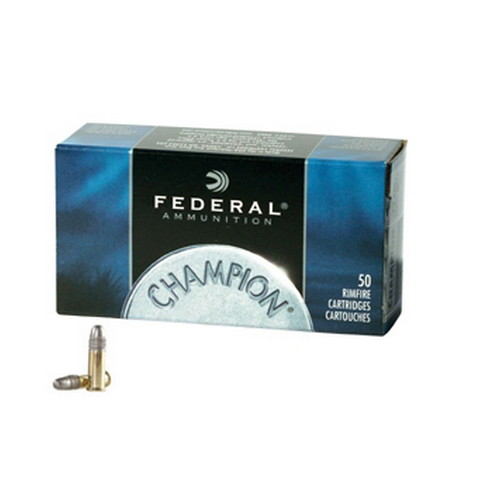 Federal Cartridge Federal Cartridge 22 Long Rifle 22 Long Rifle, 40gr High Velocity Solid (Per 50) 510