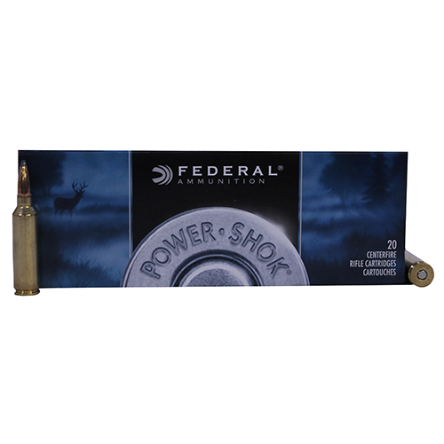 Federal Cartridge 7mm Winchester Short Magnum 7mm WSM, 150gr, Soft Point, (Per 20)