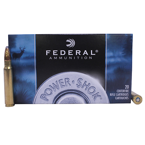 Federal Cartridge Federal Cartridge 8mm Mauser , 170 Grain, Power Shok SP, 8A