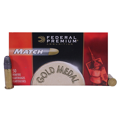 Federal Cartridge Federal Cartridge 22 Long Rifle 40gr Premium Match (Per 50) 922A