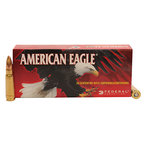 Federal Cartridge Federal American Eagle 7.62x39 Soviet 124 Grain FMJ (Per 20) A76239A