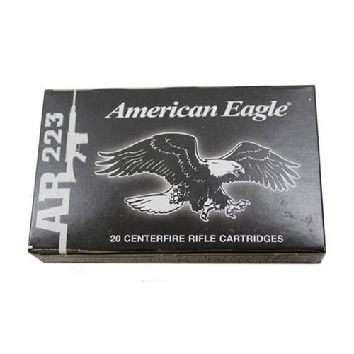 Federal Cartridge Federal Cartridge 223 Remington by Federal 55Grain Full Metal Jacket /20 AE223J