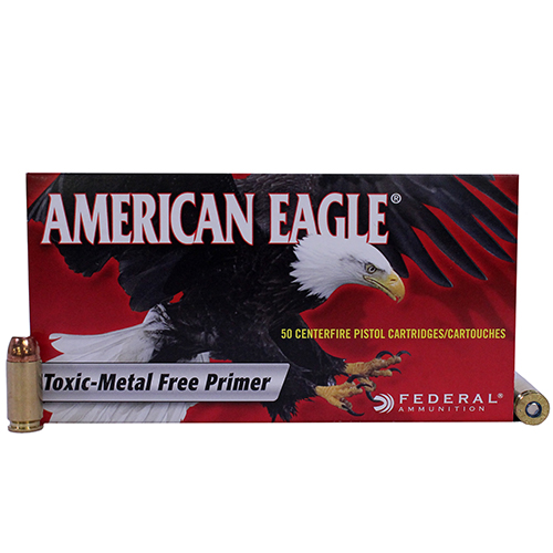 Federal Cartridge Federal Cartridge 40 Smith & Wesson 40 S&W, 180gr, Total Metal Jacket, (Per 50) AE40N1