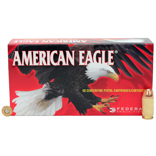 Federal Cartridge Federal Cartridge 45 Automatic 45 Auto, 230gr, Full Metal Jacket, (Per 50) AE45A