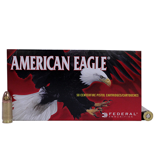 Federal Cartridge Federal Cartridge 9mm Luger 9mm Luger, 124gr, Full Metal Jacket, (Per 50) AE9AP
