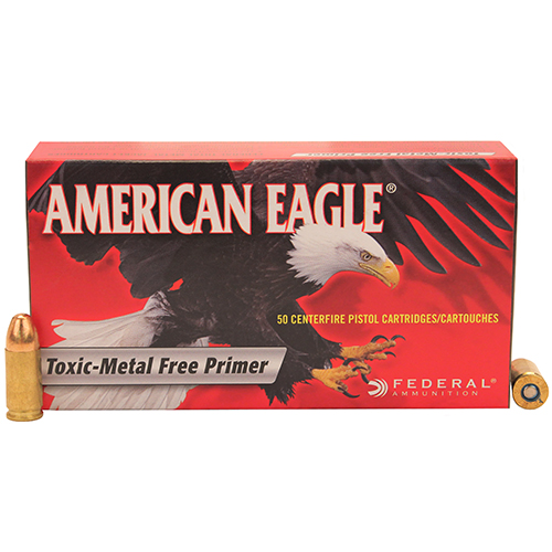 Federal Cartridge 9mm Luger 9mm Luger, 147gr, Total Metal Jacket, (Per 50)