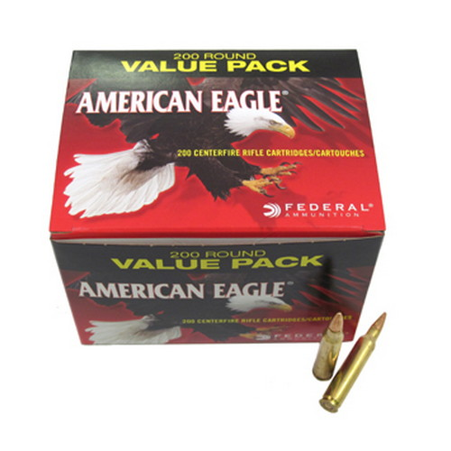 Federal Cartridge Federal Cartridge 223 Remington 55 Gr FMJ (Per 200) AEBP223B