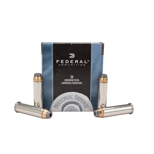 Federal Cartridge Federal Cartridge 357 Magnum 357 Mag, 158gr, Power Shok Jacketed Hollow Point, (Per 20) C357E