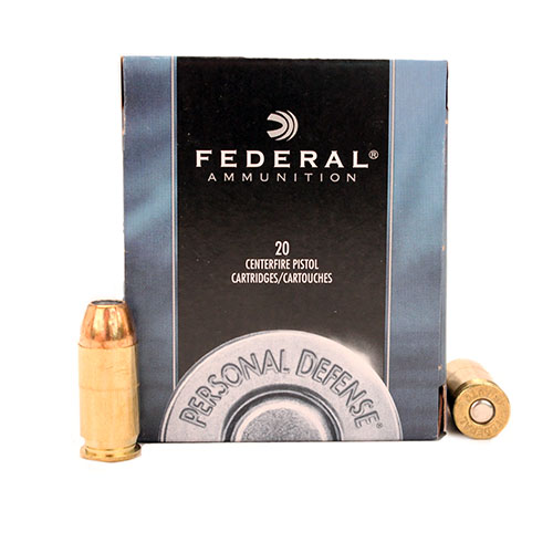 Federal Cartridge Federal Cartridge 45 Automatic 45 Auto, 230gr, Power Shok Jacketed Hollow Point, (Per 20) C45D