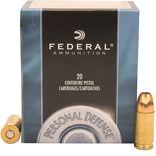 Federal Cartridge 9mm Luger 9mm Luger, 115gr Personal Defense, Jacketed Hollow Point, (Per 20)