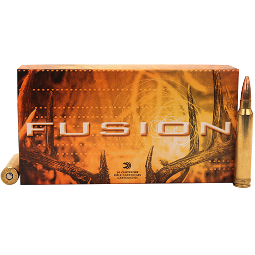 Federal Cartridge 300 Winchester Magnum 300 Win Mag, 150gr, Fusion, (Per 20)