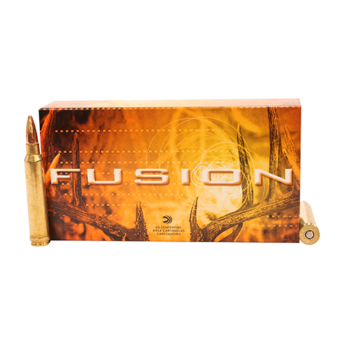 Federal Cartridge Federal Cartridge 300 Winchester Magnum 300 Win Mag, 165gr, Fusion, (Per 20) F300WFS2