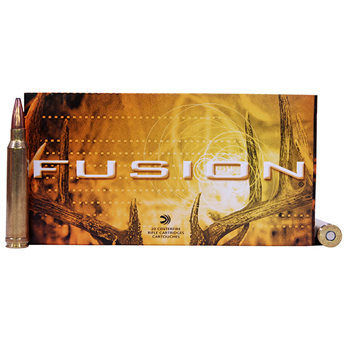 Federal Cartridge Federal Cartridge 300 Winchester Magnum 300 Win Mag, 180gr, Fusion, (Per 20) F300WFS3