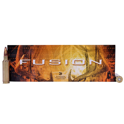 Federal Cartridge 300 Winchester Short Magnum 300 WSM, 165gr, Fusion, (Per 20)