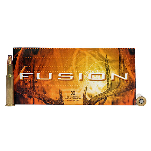 Federal Cartridge Federal Cartridge 30-30 Winchester 30-30 Win, 170gr, Fusion, (Per 20) F3030FS2