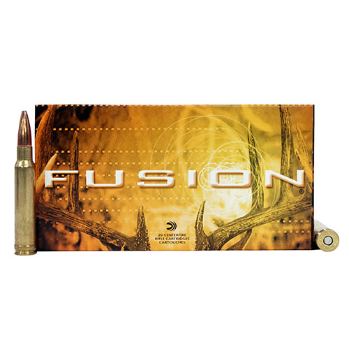 Federal Cartridge Federal Cartridge 338 Winchester Magnum 338 Win Mag, 225gr, Fusion, (Per 20) F338FS1