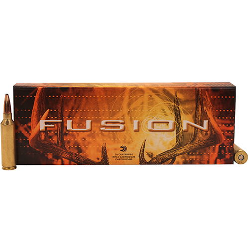 Federal Cartridge 7mm Winchester Short Magnum 7mm WSM, 150gr, Fusion, (Per 20)