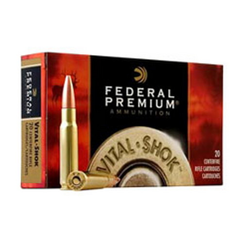 Federal Cartridge Federal Cartridge 338 Federal 338 Federal, 210gr, Nosler Partition, (Per 20) P338FB