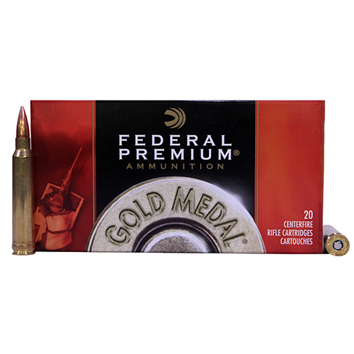 Federal Cartridge Federal Cartridge 300 Winchester Magnum 300 Win Mag, 190gr, Sierra MatchKing Boat Tail Hollow Point, (Per 20) GM300WM