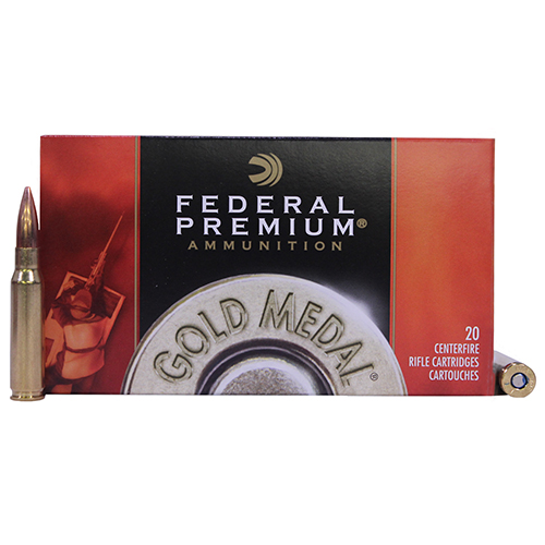 Federal Cartridge Federal Cartridge Gold Medal 308 Winchester 175 Grain, Sierra MatchKing Boat Tail Hollow Point (20 Rounds) GM308M2