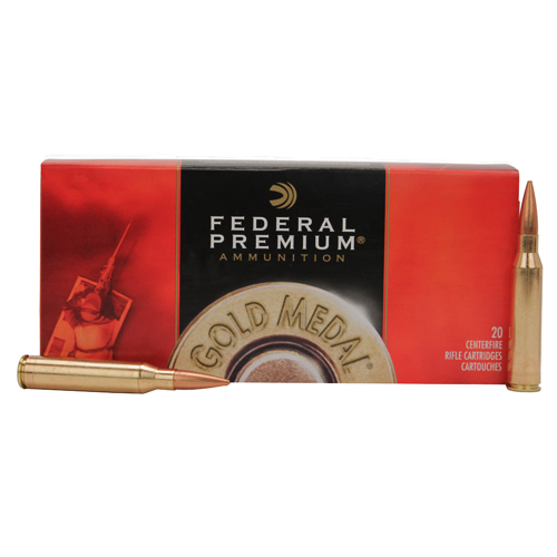 Federal Cartridge Federal Cartridge 338 Lapua 300 Gr Sierra MK BTHP GM338LM2