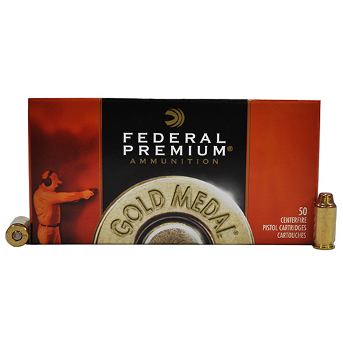 Federal Cartridge Federal Cartridge 45 Automatic 185gr FMJ-SWC Match/50 GM45B