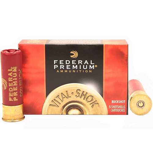 Federal Cartridge 12 Gauge Shotshells Buckshot 3