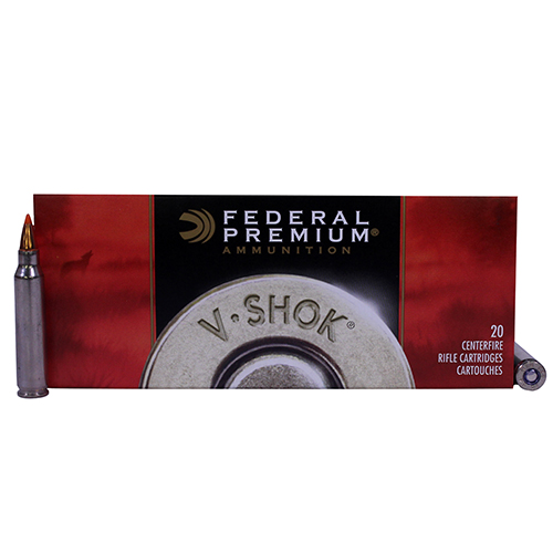 Federal Cartridge Federal V-Shok 223 Remington 55 Grain Nosler Ballistic Tip (Per 20) P223F