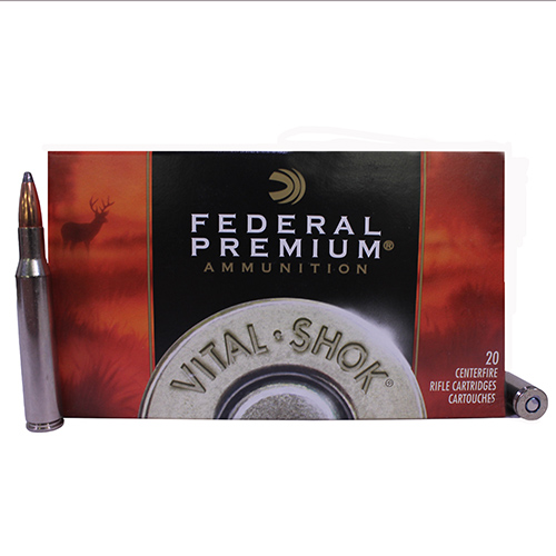 Federal Cartridge Federal Cartridge 270 Winchester 270 Win.,130 Gr Nosler Partition V-Shok (Per 20) P270P