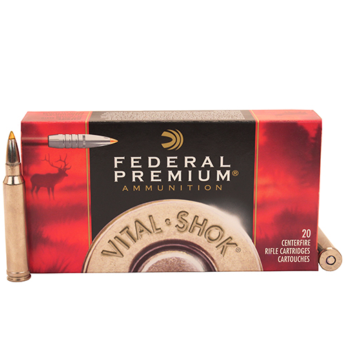 Federal Cartridge Federal Cartridge 300 Winchester Magnum 300 Win Mag, Premium,180gr, Trophy Bond, V-Shock, (Per 20) P300WTT1