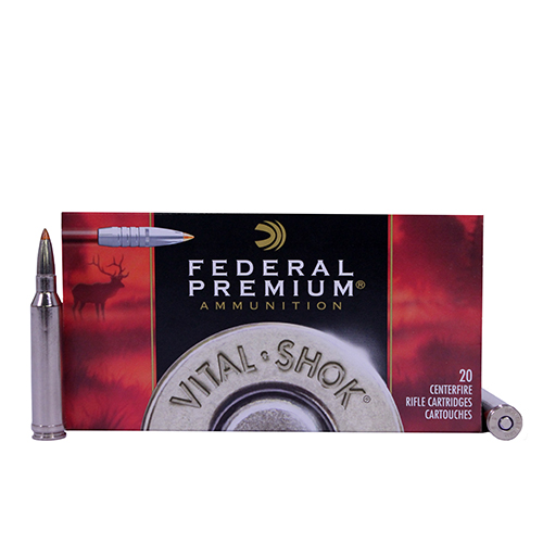 Federal Cartridge Federal Cartridge 308 Winchester 308 Win, Premium, 165gr, Trophy Bond Tip, V-Shock, (Per20) P308TT2