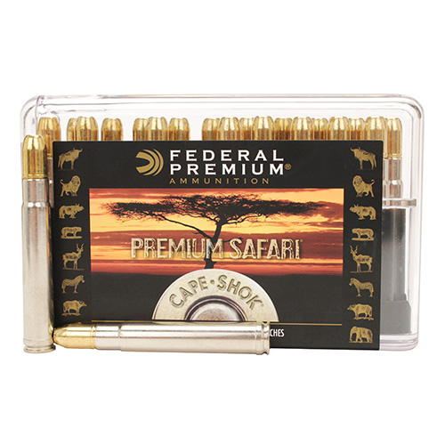 Federal Cartridge Federal Cartridge 416 Remington Magnum 416 Rem Mag, 400gr, Trophy Bonded Sledgehammer, (Per 20) P416RT2