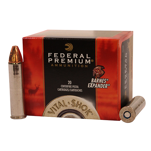 Federal Cartridge 460 S&W Premium, 275gr Barnes Expander