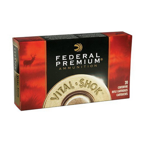 Federal Cartridge 7mm Weatherby Magnum 160 Grain, TB V-Shok (Per 20)