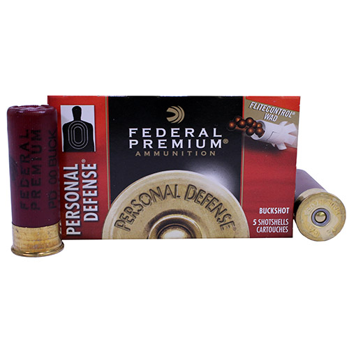 Federal Cartridge Federal Personal Defense 12 Gauge 2.75