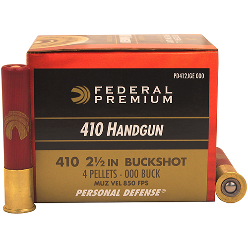 Federal Cartridge Federal Cartridge 410 Shotshells Personal Defence, 2.5