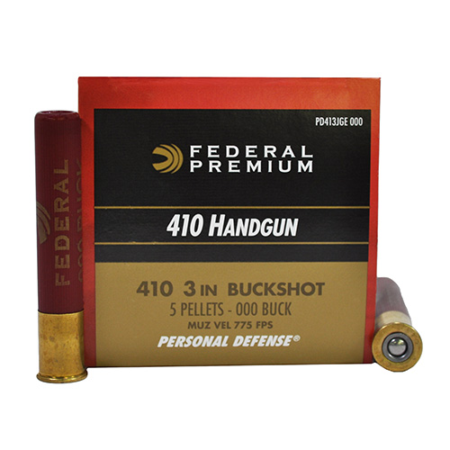 Federal Cartridge Federal Cartridge 410 Shotshells Personal Defense 3