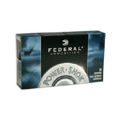 Federal Cartridge 270 Winchester Short Magnum 270 WSM,  130grain,  Soft Point Power-Shock,  (Per 20)