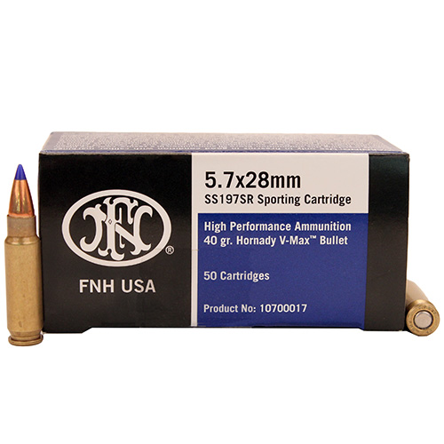Federal Cartridge Federal SR 5.7x28mm 40Grain 50 Rounds SS197