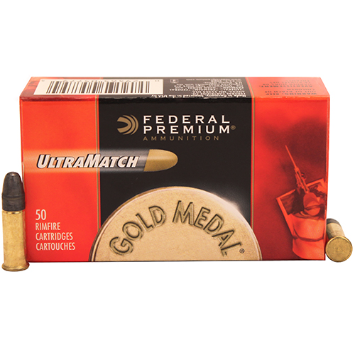 Federal Cartridge Federal Cartridge 22 Long Rifle 40gr Premium Ultra Match (Per 50) UM22
